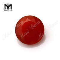 red 8.0mm agate beads stone