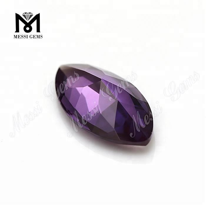 factory price marquise color change ruby 46# synthetic corundum gemstones