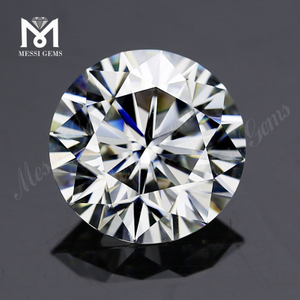 1 carat 6.5mm DEF VVS1 moissanite diamond price Wholesale price lab grown loose gemstone
