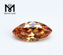 Synthetic CZ Marquise Champagne Cubic Zirconia