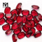 Cushion 13 X 18 MM Concave Cut Red Glass Gemstone