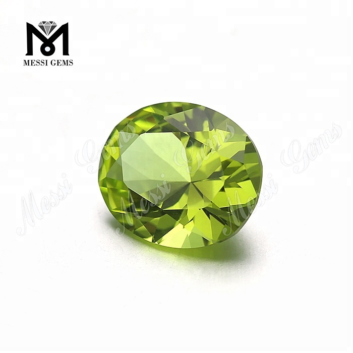 Wholesale Price Diamond Cut 10*12mm #139 Oval Shape Nanosital Gemstone