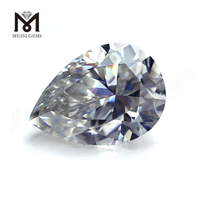 Pear Shape DEF White Wuzhou moissanite diamond Gemstones