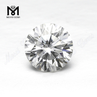 Brilliant moissanite diamond Round Cut Moissanites 9.0mm DEF Color