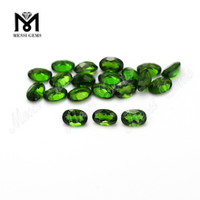 Wholesale Price Eye Clean Quality Oval Shape Natural Diopside Loose Gemstone