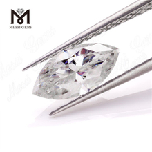 Wholesale price machine cut def color marquise shape loose moissanite