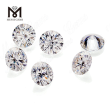 Synthetic colorless Moissanite diamond loose gemstone 10 Carat Round GH VVS1 China