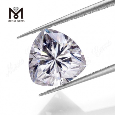 Trillion cut DEF White color VVS1 clarity loose moissanite diamond with factory price