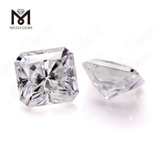 Brilliant White Asscher Cut Lab Created Moissanite Diamond loose stone