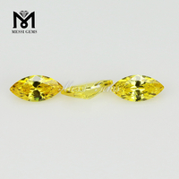 wholesale loose stone marquise shape cubic zirconia gemstone