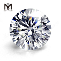 Loose gemstones 6ct DEF white Lab grown moissanite diamond color play or fire