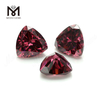Wholesale Loose trillion shape 10 x 10mm CZ rhodolite Cubic Zirconia Stone