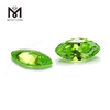factory apple green marquise sytnetic cubic zirconia loose cz stone