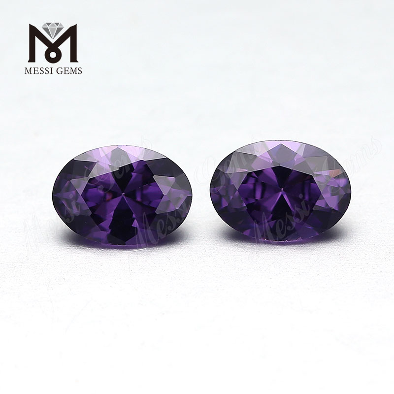 Wholesale price loose high quality oval cut cubic zirconia stone