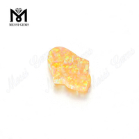 synthetic yellow hamsa opal stones, loose opal beads price