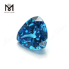 Wholesale Trillion russian industrial loose Aquamarine cubic zirconia 12x12mm