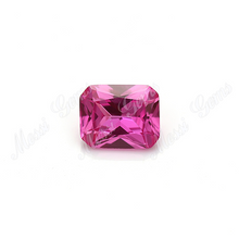 Wholesale Loose 8 x 10mm 2# Pink Sapphire Synthetic Corundum Gemstone